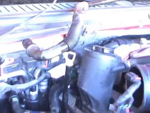Ford F350 6.4 Diesel Heater Hose Replacement - YouTube