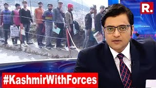 From Kashmir A Tight Slap To Pakistan, Youth Line Up To Join Forces | The Debate With Arnab Goswami