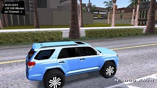 Toyota 4Runner 2010 V.1 Grand Theft Auto San Andreas GTA SA MOD