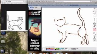 Drawing Class #1: How to Draw a Cat (EASY)