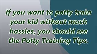 Potty Training Tips ► Potty Training Book