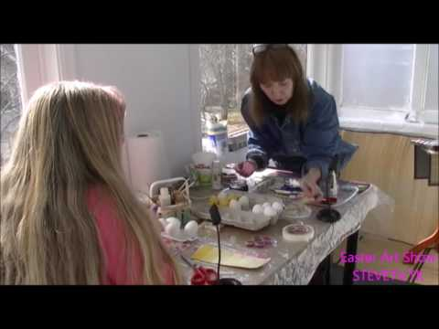 Mother's Day *** Easter Art Show - Elizabeth Eaton - Third Episode - SteveTv.tk