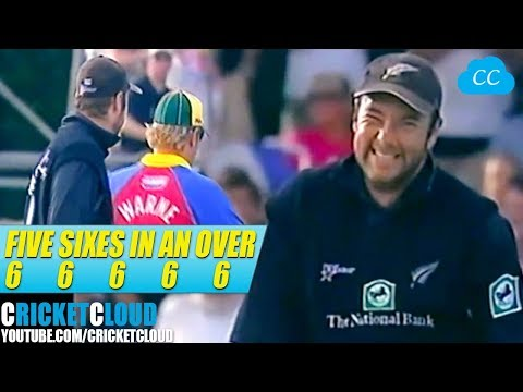 Five Sixes 6 6 6 6 6 in an Over | Craig McMillan on FIRE !!