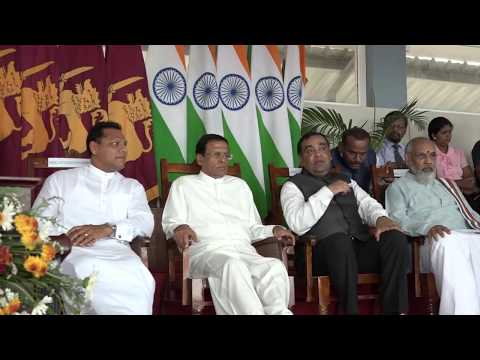 Celebrations of Second International Day of Yoga at the Duraiappah Stadium in Jaffna Part 1