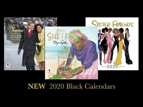 2020 Black Calendars - African American Expressions