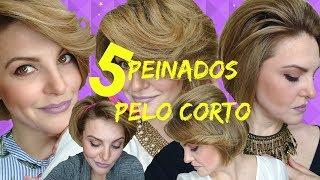 5 IDEAS RÁPIDAS DE PEINADOS PARA PELO CORTO. Dianne