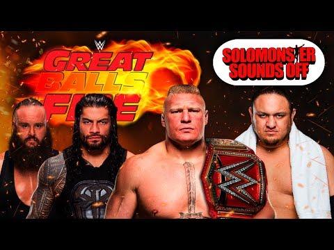 WWE Great Balls of Fire   ROMAN REIGNS ATTEMPTED MURDER!