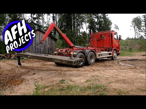Scania 143-420 with hook lift | Why it's called multilift?
