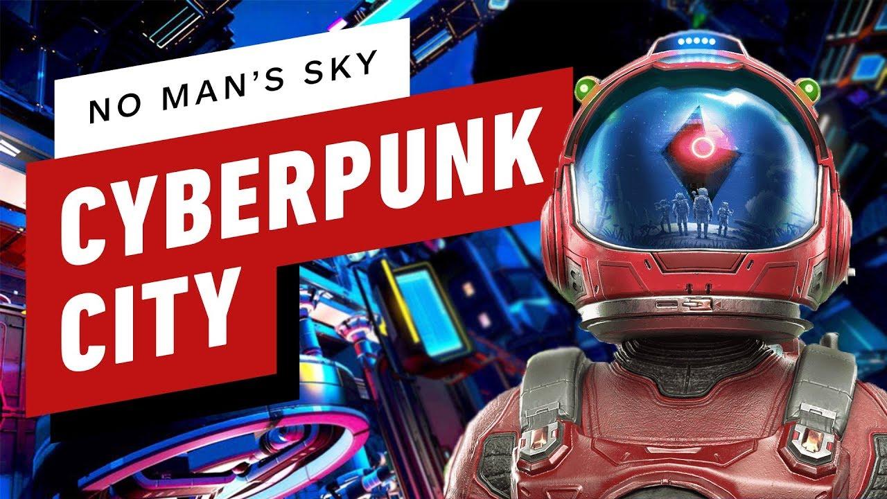 No Man's Sky Players Erstelle eine Basis im Cyberpunk-Stil und es ist atemberaubend + video