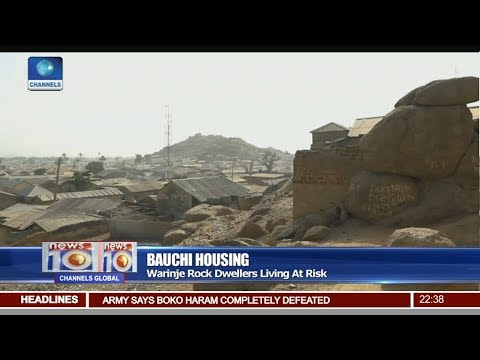 Bauchi Housing: Warinje Rock Dwellers Living At Risk