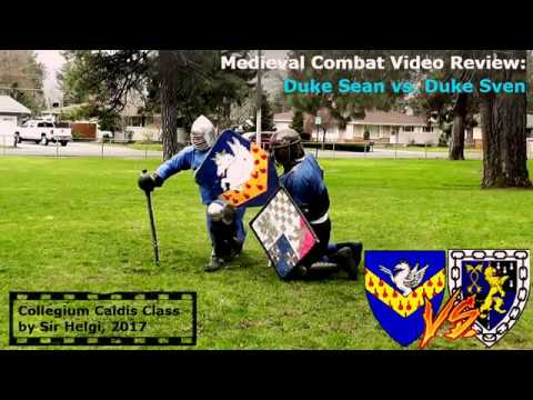Medieval Combat Video Review: Duke Sean vs. Duke Sven