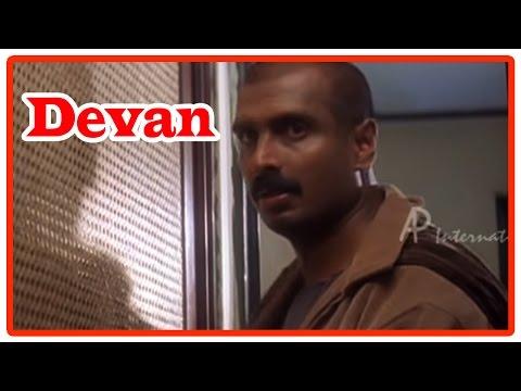 Devan Tamil Movie | Scenes | Arun Pandian Escapes From Vijayakanth