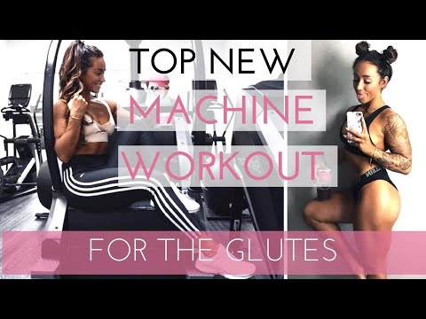 MACHINE ONLY GLUTES/BOOTY WORKOUT - NEW INNOVATIVE EXERCISES