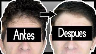 ¿CÓMO ALISAR EL CABELLO SIN CALOR NI QUÍMICOS? + 1 Peinado para HOMBRE