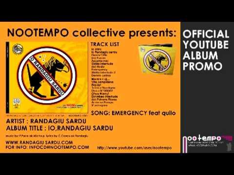 EMERGENCY RANDAGIU SARDU feat Quilo Sa Razza Su Komandanti nootempo Promo Sardegna