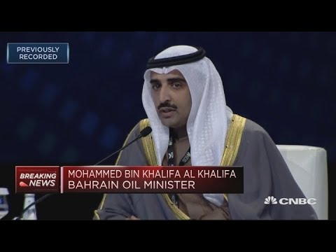 All eyes are on US oil production, Bahrain minister says
