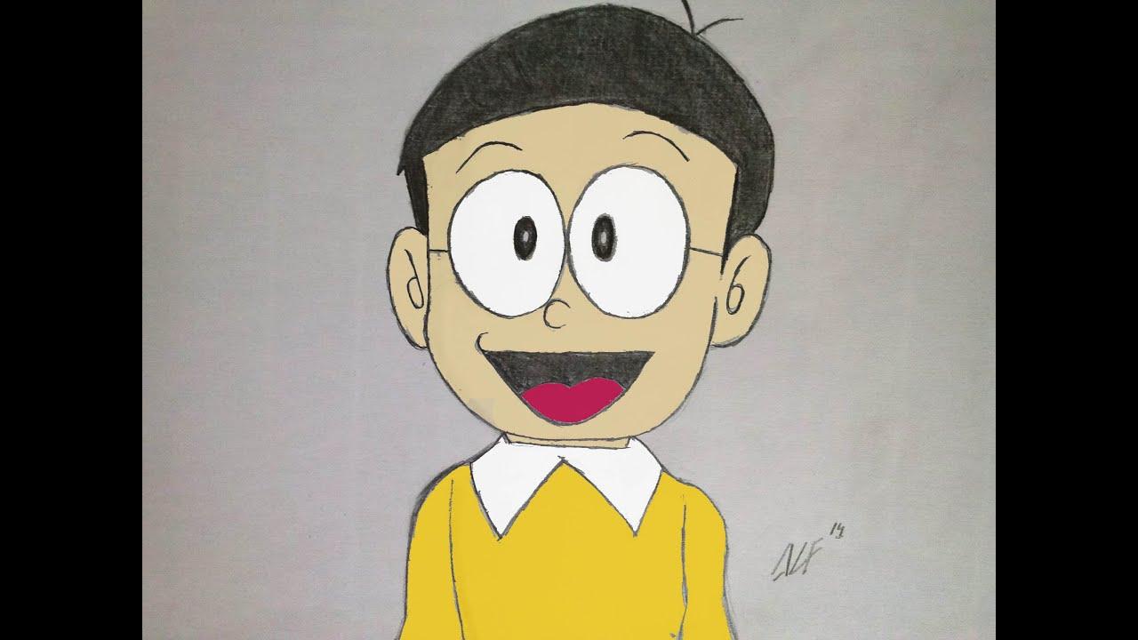 COMO DIBUJAR A NOBITA PASO A PASO Aprende a dibujar a Nobita de