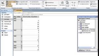 access с нуля Урок 11- Сводные таблицы и диаграммы
