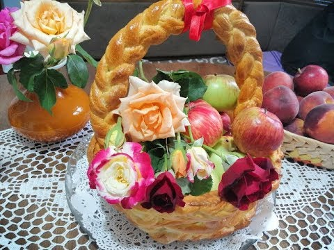 Bakina kuhinja -cvetna korpa kako najlakše napraviti