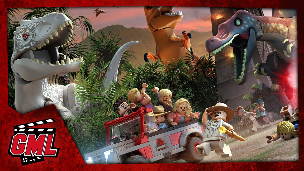 Lego jurassic world film jeu complet francais youtube - Jeux lego dino ...