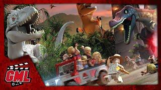 LEGO JURASSIC WORLD - FILM JEU COMPLET FRANCAIS