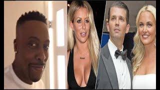 Like father like son...Arsenio Hall Confirms That Trump Jr. & Aubrey O'Day Had An Affair