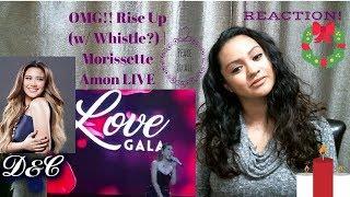 OMG!! Rise Up (w/ Whistle?) | Morissette Amon LIVE| Reaction