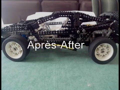 Supercar Lego 8880 De 94 Esthtique Avec Modifications Youtube