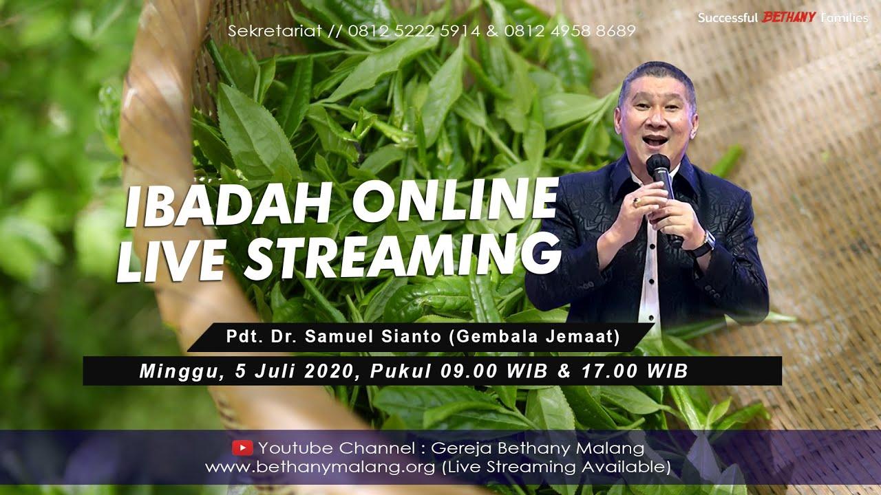 Ibadah Live Streaming - Gereja Bethany Yestoya - 5 Juli 2020 - Pdt. DR. Samuel Sianto