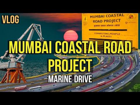 Mumbai Coastal Road Project | Current Status | Marine Drive | Night Vlog | Mumbai City