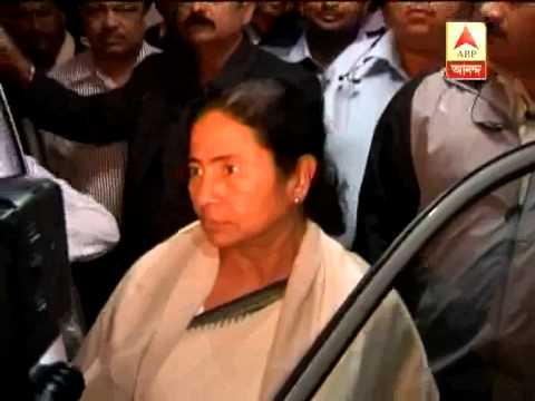 CM visits the hospital Where Suchitra Sen is admitted to enquire about her condition.