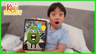 What games on my iPad with Ryan!!! Pet Avocado is Alive!!!
