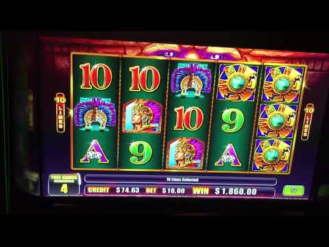 $10 Bet Aztec Power Slot Jackpot