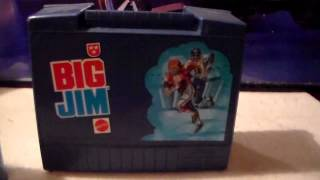 Mattel Big Jim Lunch Box and Thermous 1970's