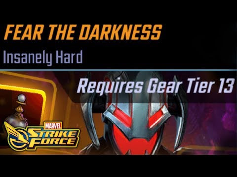 How to Get Ultron & Prepare for Fear The Darkness - MARVEL Strike Force - MSF