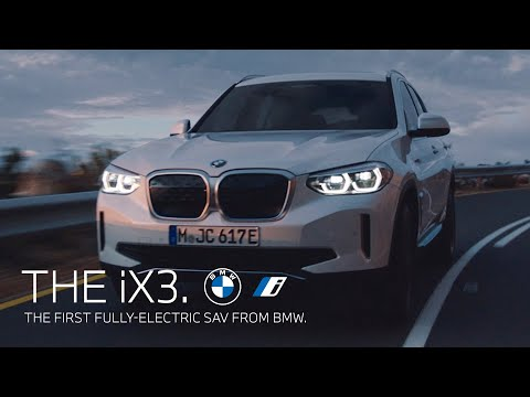The first fully-electric SAV from BMW. The first-ever BMW iX3.