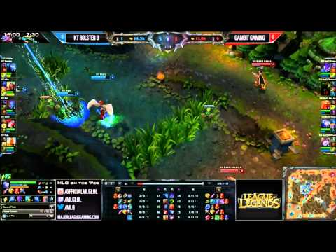 KT Rolster B vs Gambit Gaming  Game1 Grand Final International Exhibition  MLG Dallas 2013