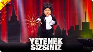 EN TATLI Michael Jackson Taklidi 🍬 | Yetenek Sizsiniz Türkiye
