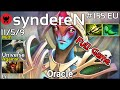Support syndereN [HG] plays Oracle!!! Ward spots shown! Dota 2 Full Game 7.20