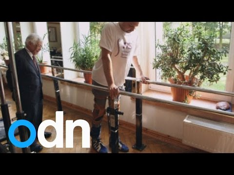 Paralysed man walks again: Nose cells used to help repair spinal cord injury