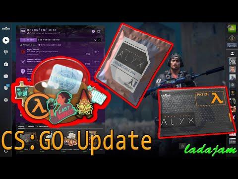 CS:GO Update: Half Life Alyx Stickers