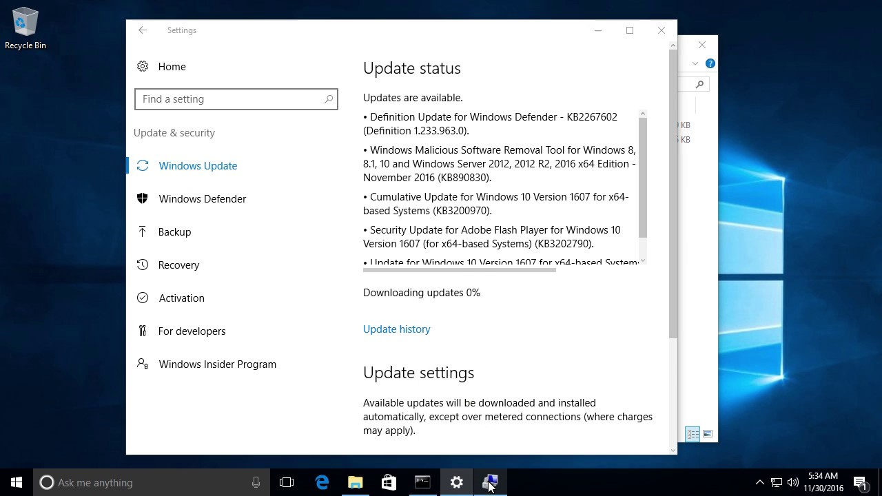 Windows 10 Update Disabler - disables Windows 10 Updates reliably