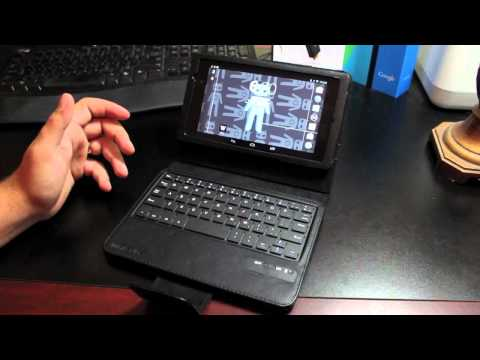 Mini Suit Best BlueTooth KeyBoard Case For The New Nexus 7 (2013)