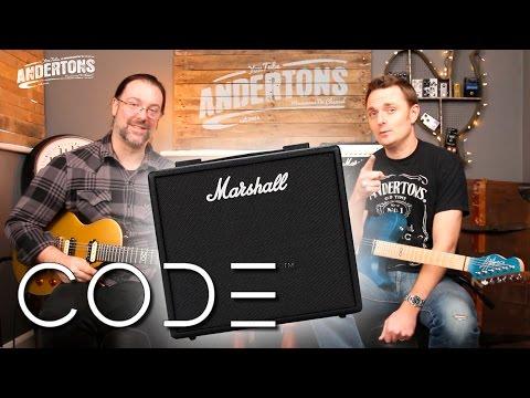 Marshall Code 25 watt Amp Demo