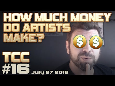 How much MONEY do concept artists make? + Freelance artist t