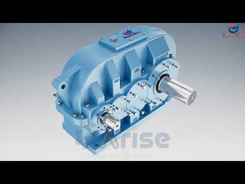 Gamma Gears - Technical Animation Of Helical Gearbox