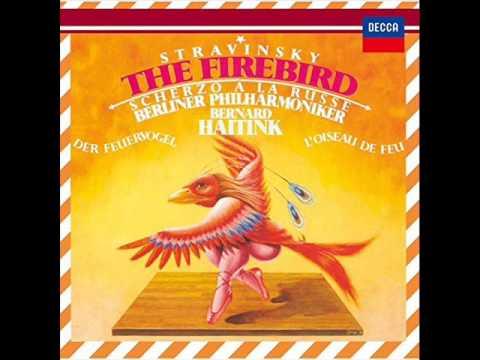 ストラヴィンスキー:バレエ音楽「火の鳥」(1910年版):ハイティンク/ベルリン・フィル