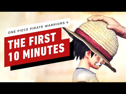 One Piece Pirate Warriors 4 - The First 10 Minutes