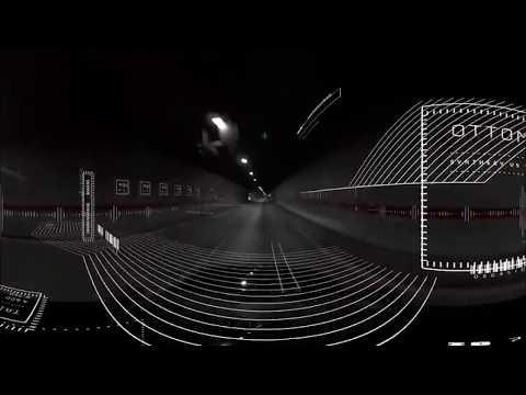 Синтез музыки и скорости 360° 3D 4K TB видео для VR