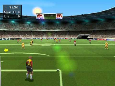 FIFA 98 Road To World Cup PlayStation 1 Gameplay